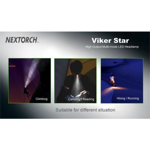 Lanterna Cabeça Led Viker Star