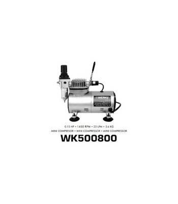 Mini Compressor Aerografo 0.15 hp wk500800