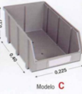 Caixa Stock plástico - MOD.c