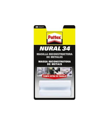 Cola Nural 34 Massa Reconstrucao metal 22 ml