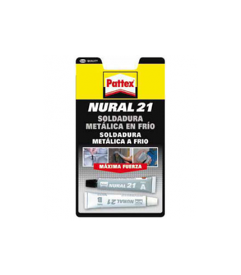 Cola Nural 21 Solda metal a frio 22 ml