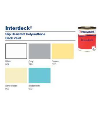 Tinta anti-deslizante interdeck
