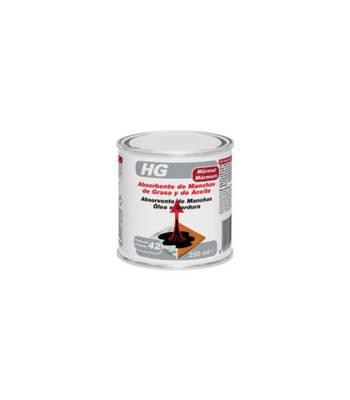 HG Absorvente de manchas de óleo e gordura para Mármore 250ML