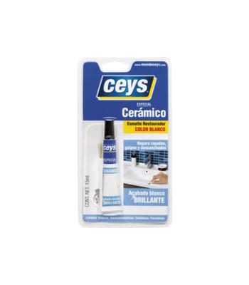 Esmalte ceramico branco 15 ml ceys
